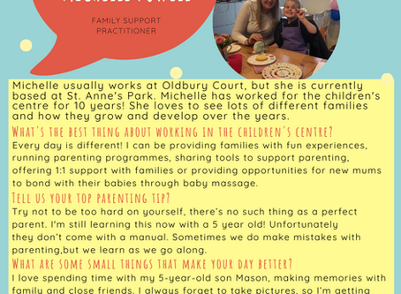 Getting to know you... Michelle Powell