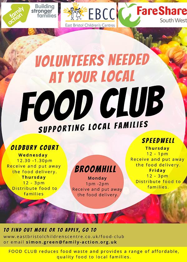 External Volunteer Flyer - Social media