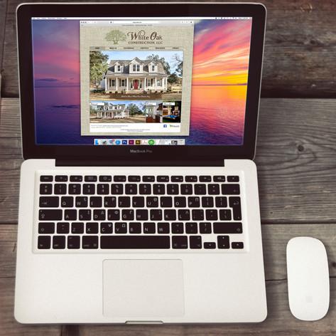 White Oak Construction Web Design