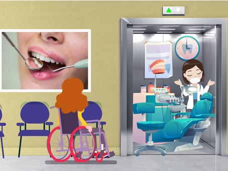 טיפול שיניים במעלית הבניין