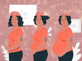 בטן גדלה, מוח מתכווץ מה קורה למוח שלך בהריון?