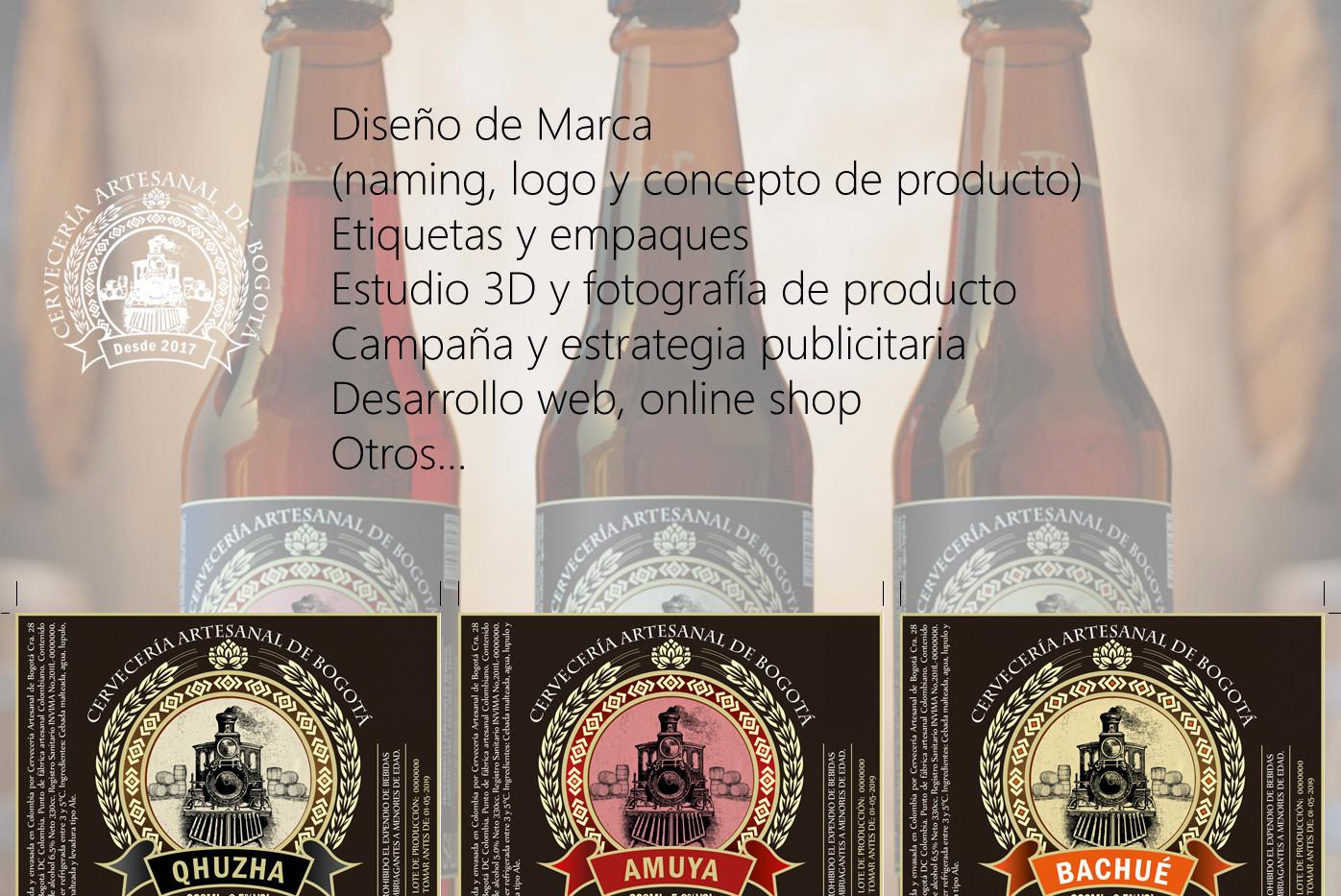 Desarrollo de marca para cerveceria artesanal