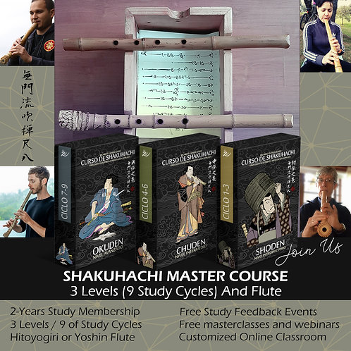 2 YEARS STUDY 3 LEVELS MASTER COURSE AND FLUTE