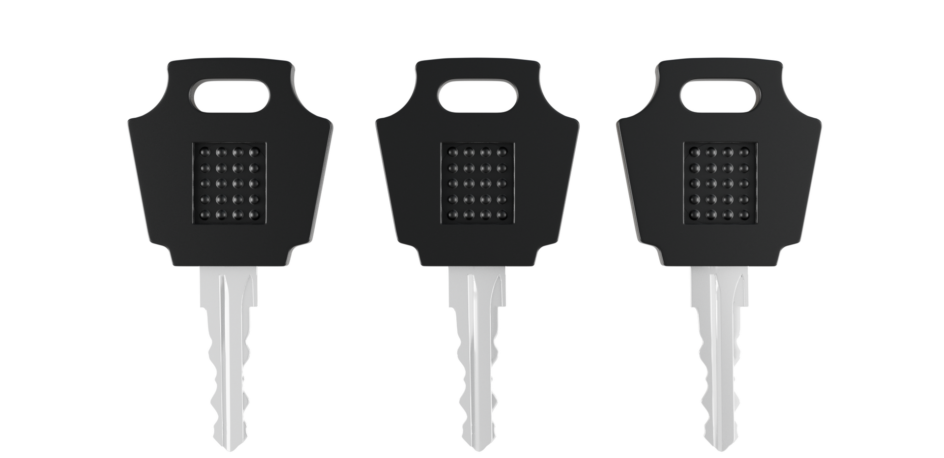 Chain lock keys - Realistic 3D product.png