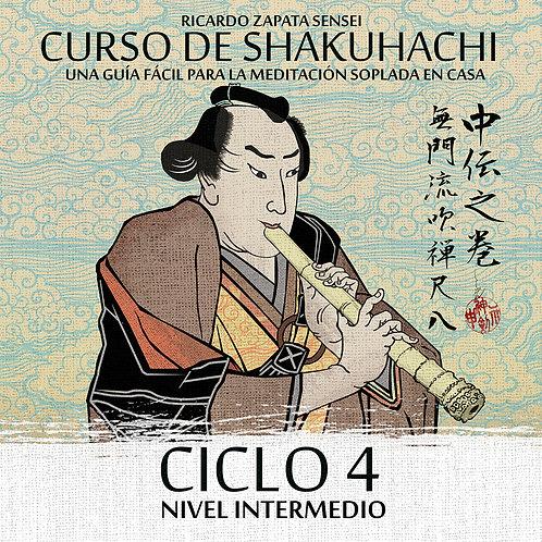 Curso de Shakuhachi Ciclo 4