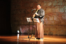 Museo Nacional of Colombia - Shakuhachi recital