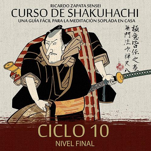 Curso de Shakuhachi Ciclo 10