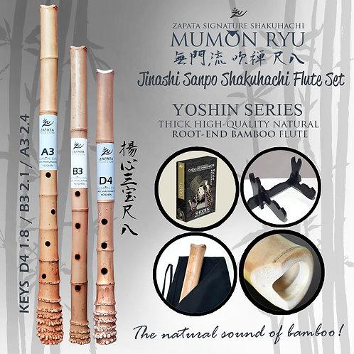 Set 3 Flutes Yoshin Series
