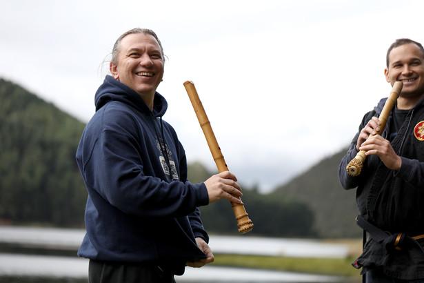 Outdoor Suizen Shakuhachi Training