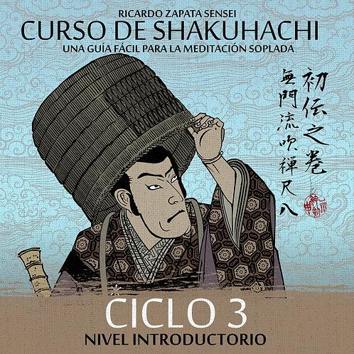 Curso de Shakuhachi Ciclo 3