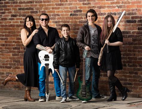 Los Zapata Rock Family Band