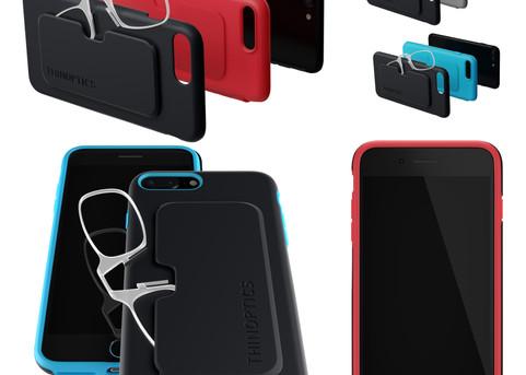 iPhone7 Glasses Case - 3D realistic artwork