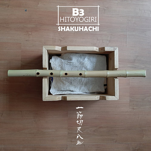 B3 HITOYOGIRI SHAKUHACHI