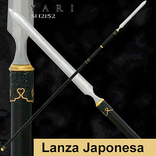 Yari Japonese Spear Sojutsu Training Weapon
