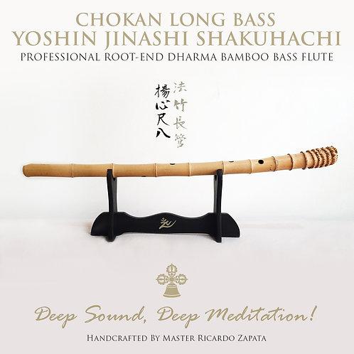 CHOKAN YOSHIN SHAKUHACHI LONG BASS BAMBOO FLUTE