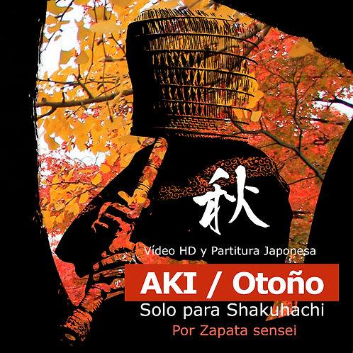 Aki / Otoño - Guía de estudio (Flauta D4)