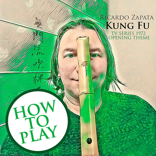 How to Play Kung Fu TV Serie Soundtrack 1972