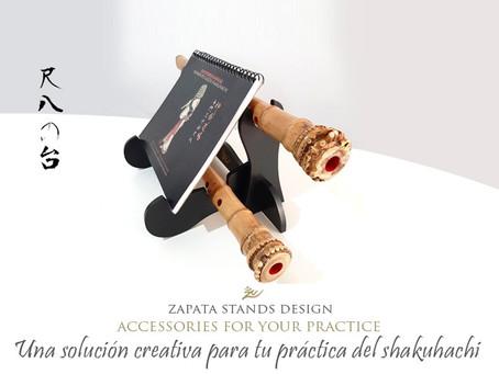 Flute Stands - Soluciones creativas para la práctica del shakuhachi
