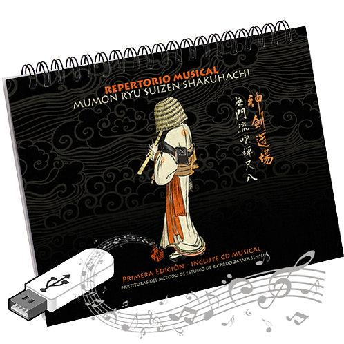 Mumon Ryu Repertoire Pendrive Music and Score Book
