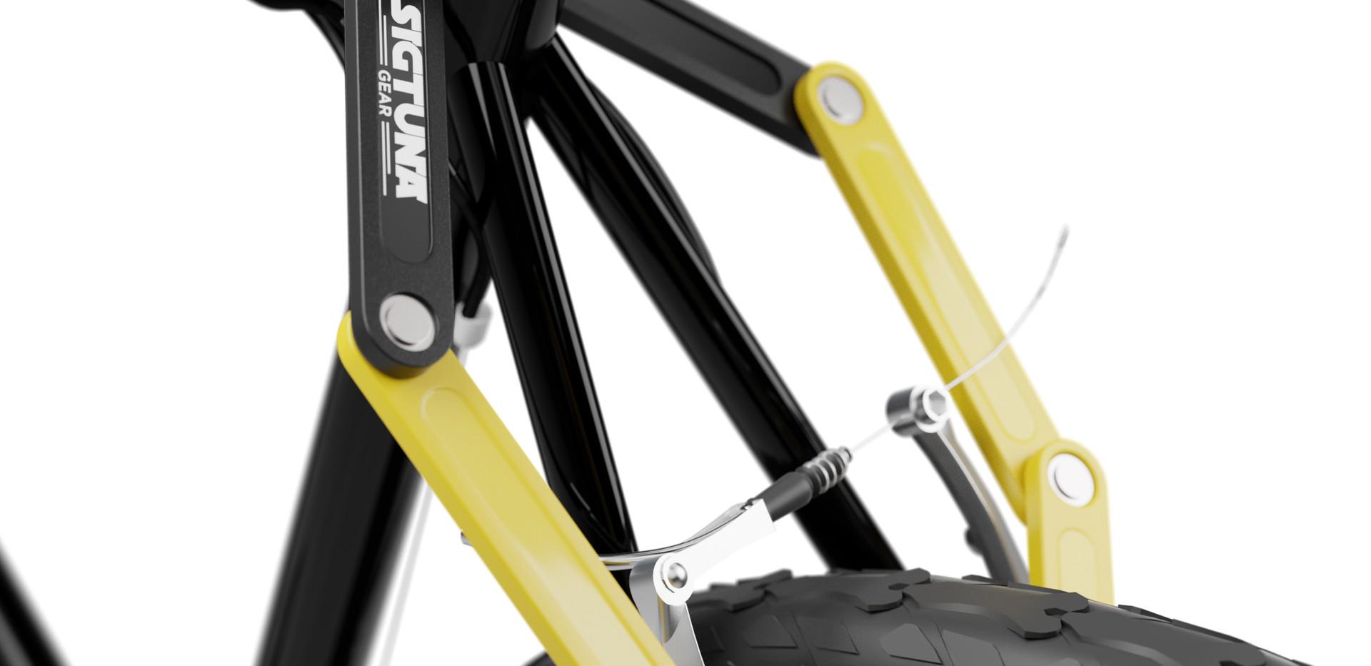 Folding Lock Bike