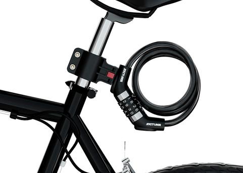 Spiral Bike Lock