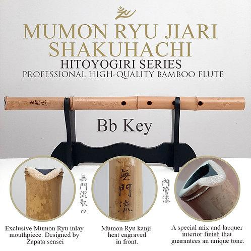 Bb Mumon Ryu Jiari Hitoyogiri Shakuhachi