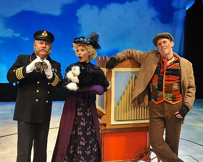 Miss Lark in Mary Poppins at Westchester Broadway Theatre