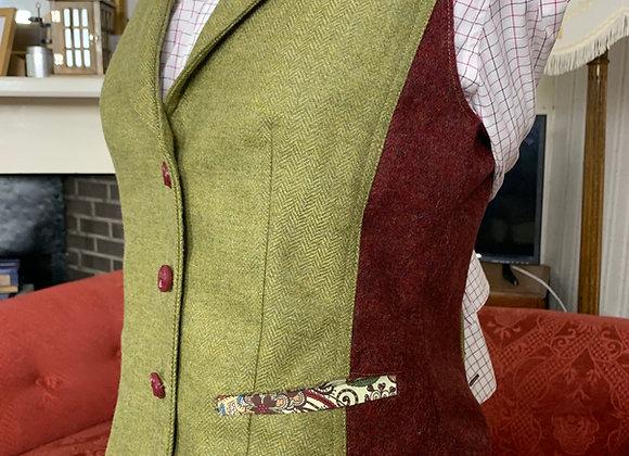 The Katherine - Ladies Bespoke Waistcoat with Collar