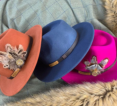New Hat Colours.  There's always mucho e