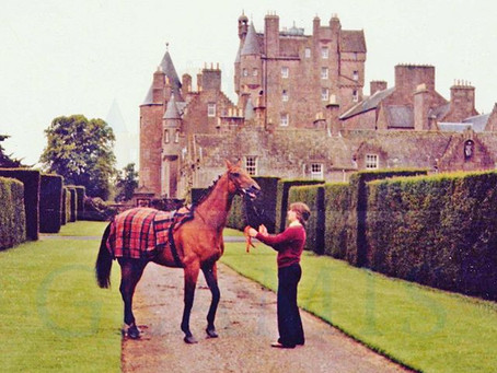 Tweed, Castles and an Equine Legend.