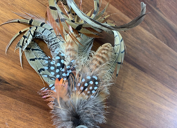 Feather Hat Pin -Large