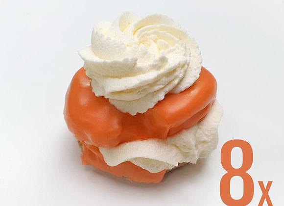 8x Oranje Moorkop