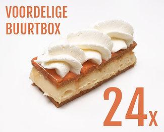 24x Oranje Tompouce