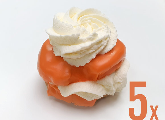 5 x Oranje Moorkop