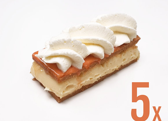 5x Oranje Tompouce