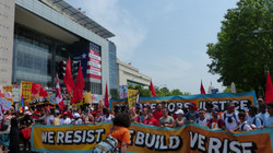 We resist, we build, we rise