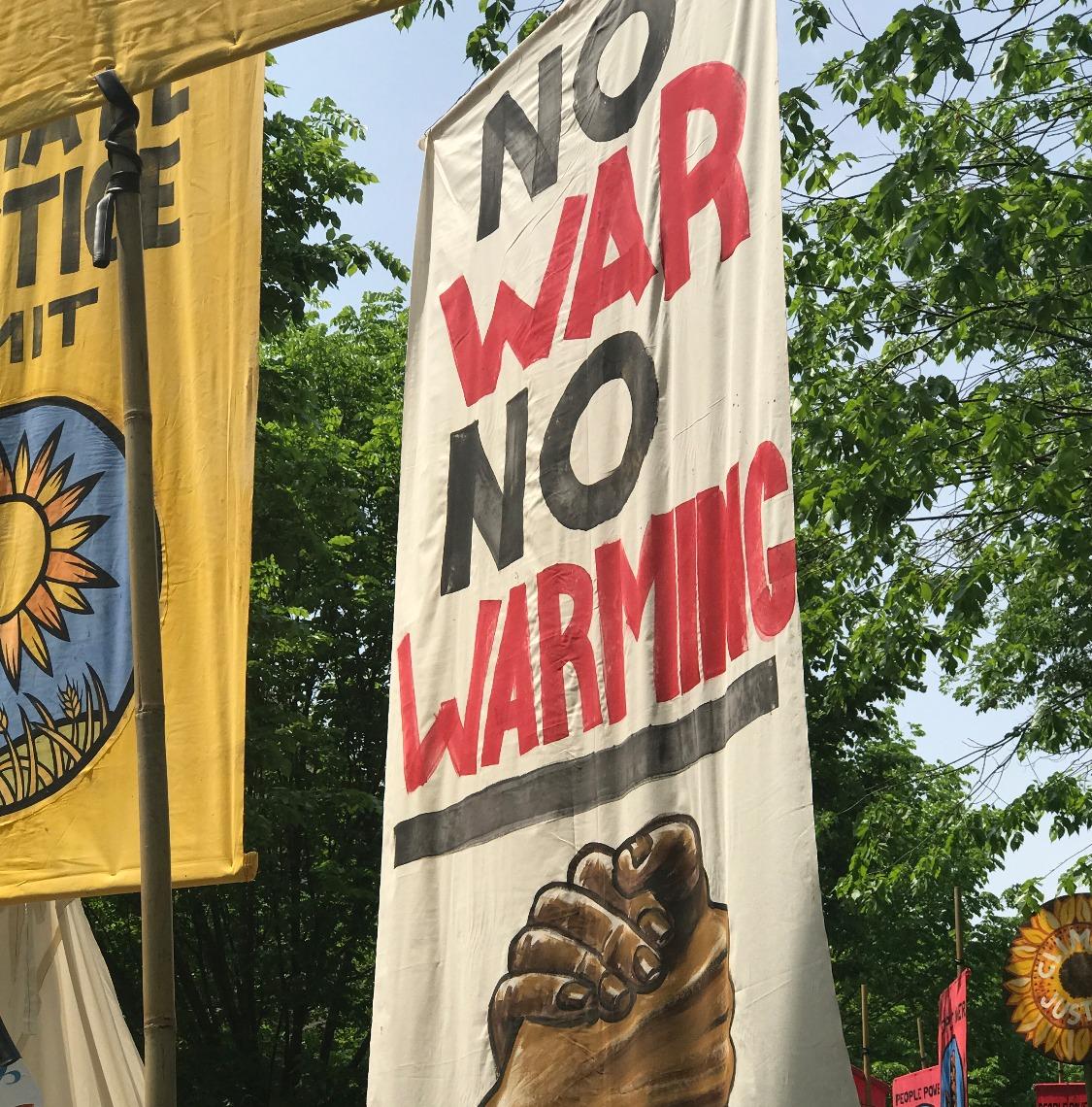 No war, no warming