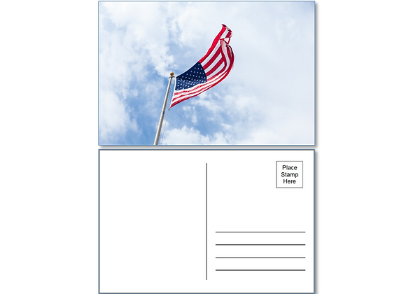"40 ""FLAG"" postcards with Stamps & Addresses. Shipping included"