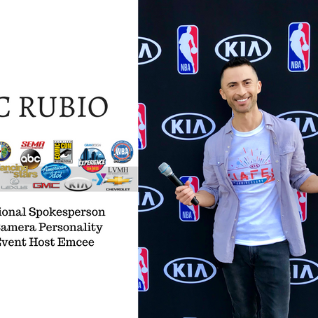 Book Your Talent Through Us: Spotlight On JC Rubio