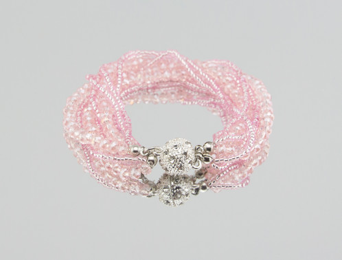 Evolution Iced Pink Bracelet