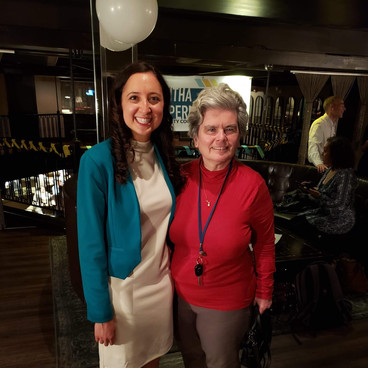 Women for Sam Reception with community activist Kate Donaghue.