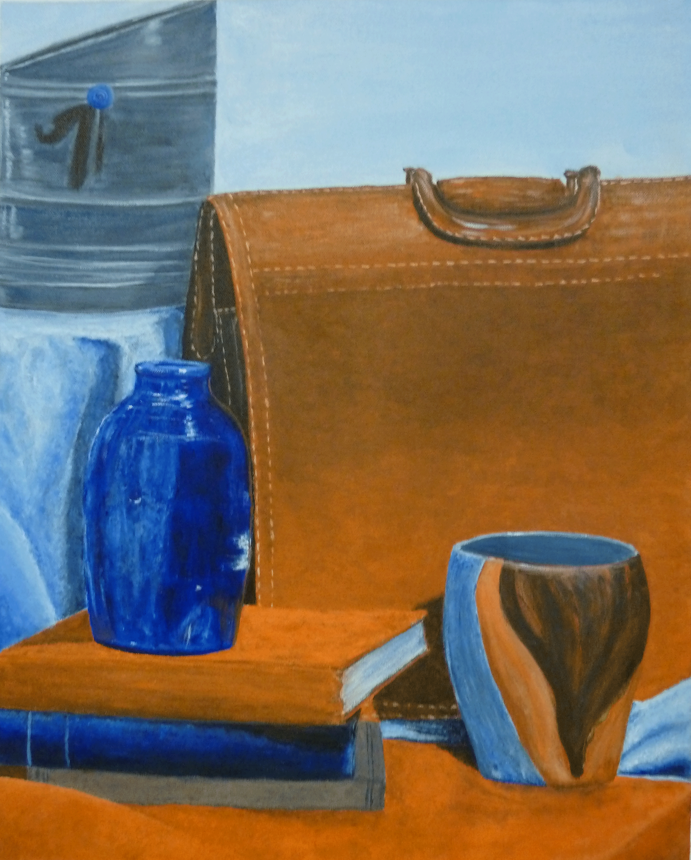 Still Life With Briefcase