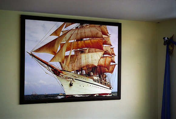Ship on a Boat, Istanbul, Turkey