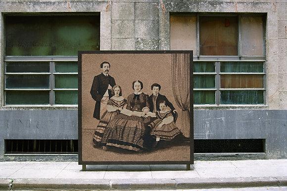 Sidewalk Family, La Habana, Cuba