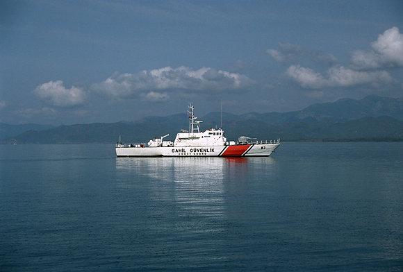Turkish Coast Guard, Mediterranean Sea, Turkey