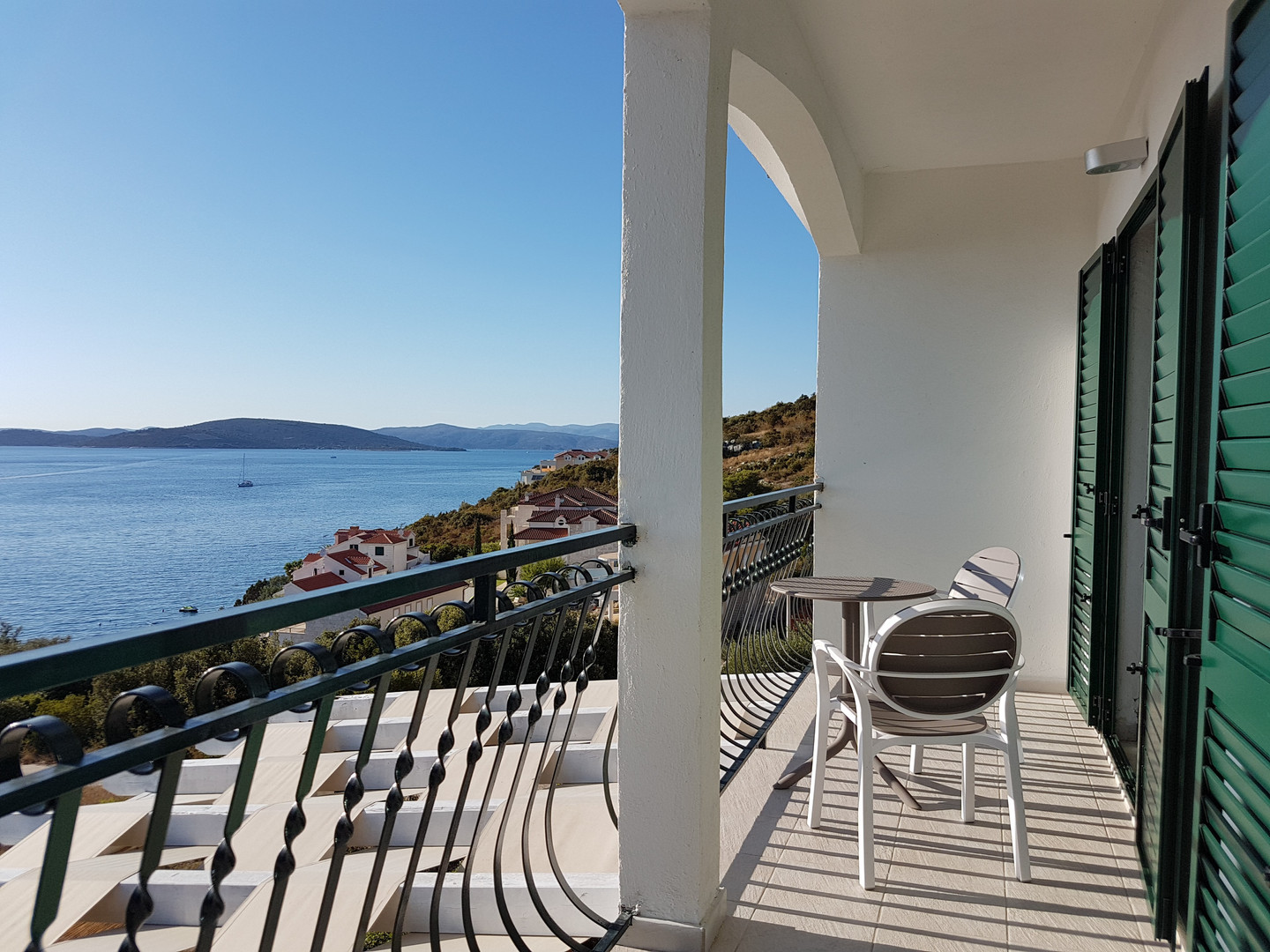 Balcony with breathtaking sea views | Villa Berg