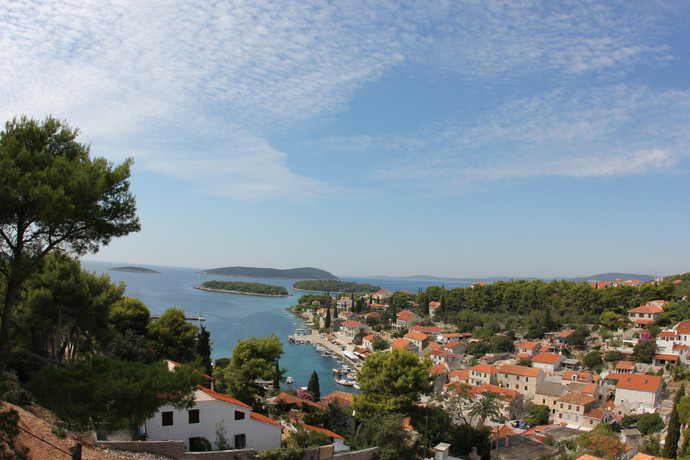 View over Maslinica | Villa Berg