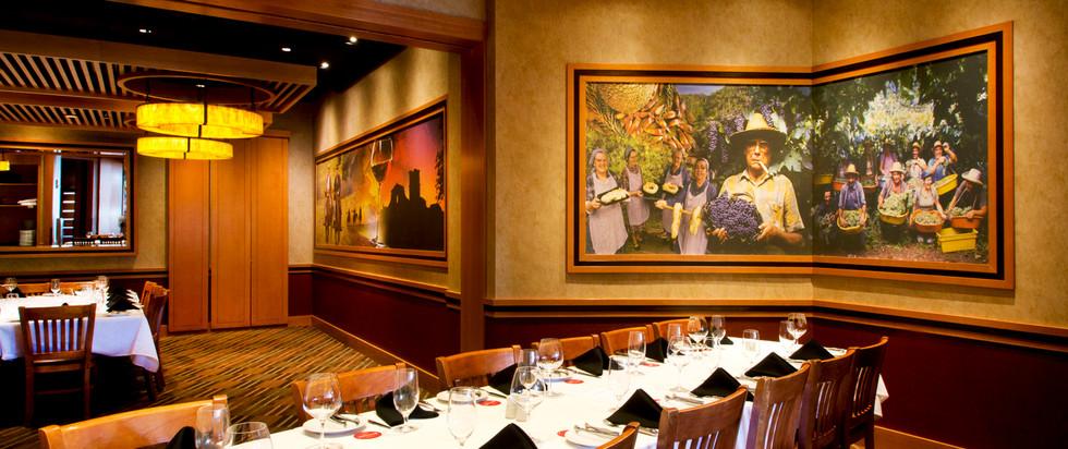 Grapes Private Room Celebration