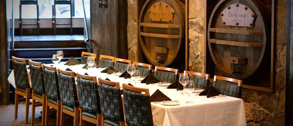 Semi-Private Room Dinner