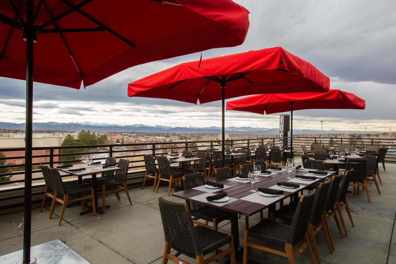 Rooftop Patio Networking